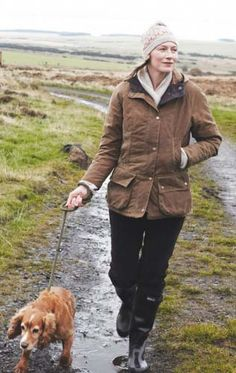 barbour for a walk