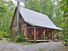 Buy Your Own Black Mountain Rental Log Cabin | Greybeard Asheville ...