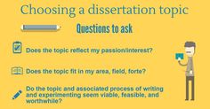 Choosing a dissertation topic #writing #college #dissertation