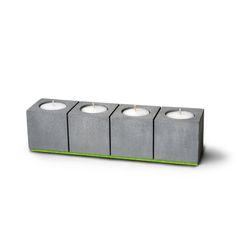 Unique Blockvier concrete tea light holder