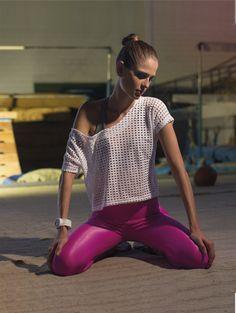 Clicado em escola de ginástica artística de São Paulo / Modelo: Luiza Windberg