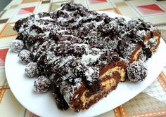 Diétás kókuszos roló   Vivien receptje - Cookpad receptek Sugar Free, Sweets, Vegan, Baking, Desserts, Cake, Recipes, Rolo, Tailgate Desserts