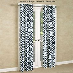 Trellis Thermalogic(TM) Insulated Room Darkening Grommet Curtains