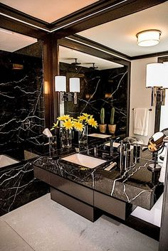 Luxury Bathroom Ideas is completely important for your home. Whether you pick the Interior Design Ideas Bathroom or Luxury Bathroom Master Baths Log Cabins, you will create the best Luxury Bathroom Master Baths With Fireplace for your own life. Modern Luxury Bathroom, Glamorous Bathroom, Luxury Master Bathrooms, Bathroom Design Luxury, Master Baths, Hotel Bathrooms, Modern Bathrooms, Small Bathrooms, Beautiful Bathrooms