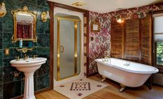 16 Outstanding Transitional Bathroom Designs