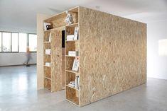 Architectural-Inspired Furniture by Voukenas Petrides - Design Milk Geometric Furniture, Furniture Design, Osb Wood, Design Studio Office, Transforming Furniture, Tiny Apartments, Interior Decorating, Interior Design, Affordable Furniture