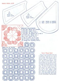 Q is for Quilter » Blog Archive » Ferris Wheel Quilt – WIP