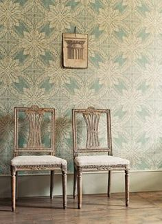 Medevi wallpaper/Gustavus collection from Zoffany #wallpaper #swedish