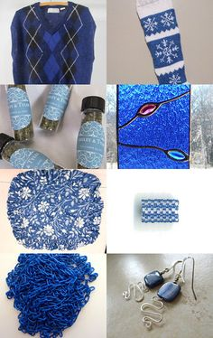 Blue sky day by Ann Mitchell on Etsy--Pinned with TreasuryPin.com