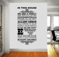 Best Ideas for house goals quotes mantra Prayer Wall, Prayer Room, Religious Quotes, Islamic Quotes, Red Couch Living Room, Respect Your Parents, Islamic Celebrations, Islamic Decor, Islamic Phrases