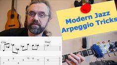 Modern jazz arpeggio ideas  - Melodic Interval Structures - Guitar Lesson
