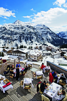 Lech, Austria, my kind of surroundings.