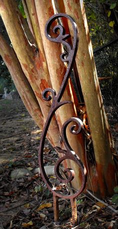Flag Pole Holder Wall Mount Wrought Iron With By