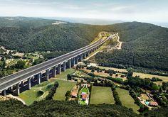 Açılışına artık saatler kalan Yavuz Sultan Selim Köprüsü'nün son fotoğrafları görenleri büyülüyor.