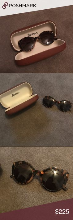NWOT illesteva cat eye never worn sunglasses Never worn. No scratches. In perfect condition. Make an offer! Illesteva Accessories Sunglasses