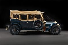 1908 Delaunay-Belleville Roi des Belges Tourer by Mulliner Vintage Cars, Antique Cars, Auto Start, The Rev, Car Brands, Car Pictures, Cars And Motorcycles, Classic Cars, Automobile