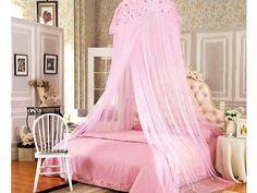 Pink Canopy bedroom
