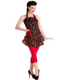 1950s Style Cherry Pie Apron #uniquevintage