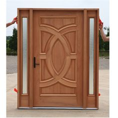 Ash Solid Wood Door Hpd334 Jpg 548 548