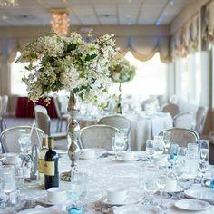 Raquel Konstantinos Crystal Point Yacht Club Wedding Tablescape White Pleasant New