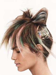 Cabelos multicoloridos - My Dress Code