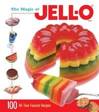 Over 100 years and it's still jiggling and wiggling and creating fun for all ages!The 100 recipes in this unique cookbook celebrate all thing JELL-O®. All tested in the official JELL-O® kitchens and accompanied with tempting photos. Angel Food Cake Desserts, Jello Desserts, Jello Recipes, Dessert Cake Recipes, Mexican Food Recipes, Sweet Recipes, Dessert Food, Pudding Recipes, Gelatin Recipes