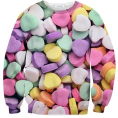 Candy Heart Sweater – Shelfies - Outrageous Sweaters