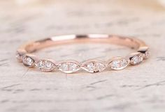 Rose gold is one of the sweetest (and hottest) trends of the year. Find out why! We've gathered up our favorite rose gold ring for you to feast your eyes on.