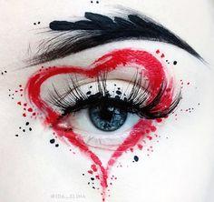 Make Up - seltsames schickes Make-up 5 Eye Makeup Art, Eye Art, Beauty Makeup, Exotic Makeup, Skin Makeup, Makeup Goals, Makeup Inspo, Makeup Inspiration, Makeup Kit