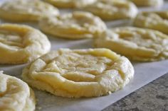 Lemon Crinkle Cookies - YUM!!!