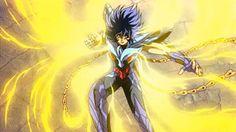 anime - phoenix ikki - saint seiya - GIF