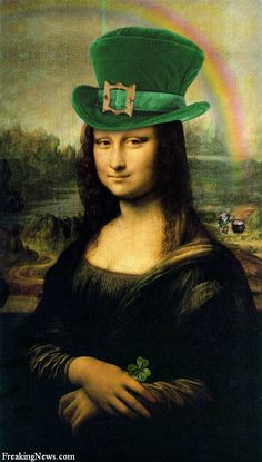 Mona Lisa feeling lucky...