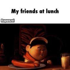 My friends at lunch / iFunny :)