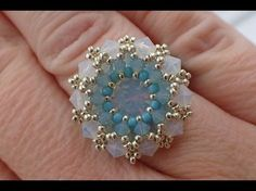 Kelly from Off the Beaded Path, in Forest City, North Carolina shows how to make a ring that goes with the previous 2 weeks projects. We have materials used ...