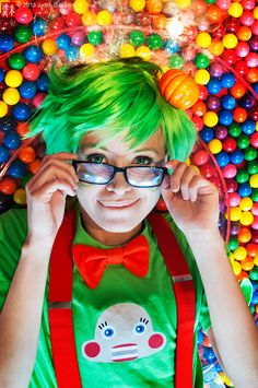 Tricksters: A Candy Retreat by theDreamerWorld, via Flickr.   Jake English