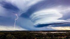 Kalgoorlie-Boulder Super Storm, Western Australia.