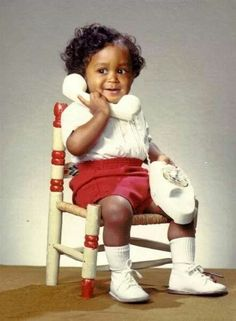 Angelo as a baby