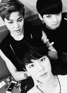 BTS | JIMIN JIN and JUNG KOOK