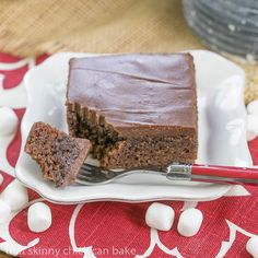 Coca Cola Cake | A moist chocolate cake  with Coke in the batter and frosting!