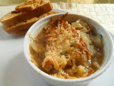 French Onion Soup with Toasted Bread: 5 recipes improved by beer