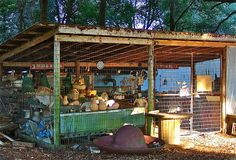 Roadside vegetable stand in Ocala by susieblackmon, via Flickr