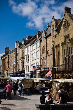 Durham City marketplace