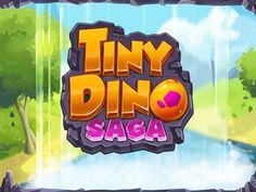 Tiny Dino Game Concept by Cenildon Muradi, via Behance