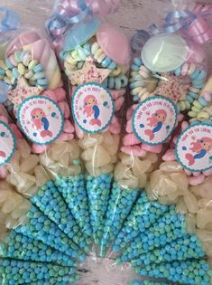 Candy Bags, Candy Gifts, Summer Birthday, Christmas Birthday, Birthday Treats, Birthday Parties, Sweetie Cones, Candy Kabobs, Candy Cone