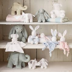 Buy The Little White Company > Toys > Daddy Indy Elephant from The White Company