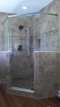 beautiful shower for master bath Master Bath Shower, Guest Bath, Master Bathroom, Corner Shower Stalls, Shower Cabin, Diy Bathroom, Bathroom Renos, Bathroom Ideas, Shower Remodel