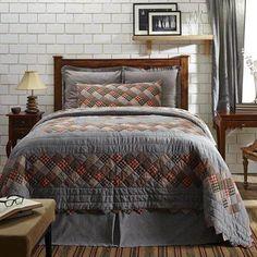 Lasting Impressions Beacon Hill Bedding - Plaid Patchwork By Lasting Impressions Bedding,