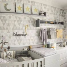 10 tricks to make space for a baby in your small home - Best Interior Design Ideas Baby Bedroom, Baby Boy Rooms, Baby Room Decor, Baby Boy Nurseries, Nursery Room, Kids Bedroom, Best Interior Design, Interior Design Living Room, Home And Deco