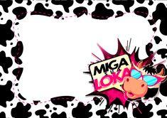 Convite Kit Festa Miga sua Loka
