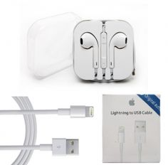 Apple - Combo of Earphones & Data Cable    Deal Price : Rs. 340.00  Original Price : Rs. 2299.00  For more information visit : http://www.saverupee.co.in/details.php?id=729
